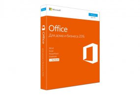 Microsoft Office Home and Business 2016 32/64 Russia Only DVD