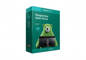 Антивирус Kaspersky Anti-Virus на 2 ПК на 12 мес. Base Box